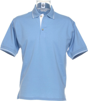 Kustom Kit - St. Mellion Polo (Light Blue/White)