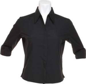 Kustom Kit – Poplin Continental Blouse ¾ Sleeve