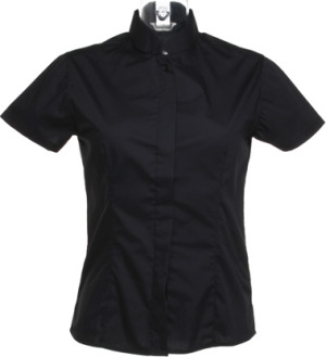 BarGear - Women´s Bar Shirt Mandarin Collar (Black)