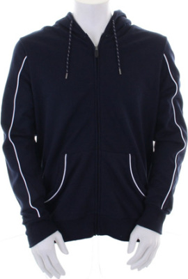 GameGear - Hooded Track Top (Navy/White)