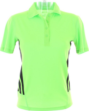 GameGear - Womens Training Polo (Fluorescent Lime/Black)