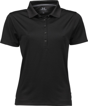 Tee Jays - Ladies Performance Polo (Black)
