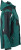 James & Nicholson - Workwear Winter Softshell Jacke (dark-green/black)