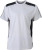 James & Nicholson - Workwear T-Shirt (white/carbon)