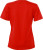 James & Nicholson - Damen Workwear T-Shirt (red)