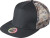 Myrtle Beach - 5-Panel Camouflage Mesh Kappe (black/mesh-camouflage)