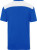 James & Nicholson - Herren Workwear T-Shirt (royal/white)