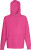 Fruit of the Loom - Lightweight Hooded Sweat (Fuchsia)