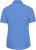 Russell - Kurzarm Popeline-Bluse (Corporate Blue)
