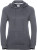 Russell - Damen HD Kapuzen Sweater (convoy grey)