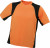 James & Nicholson - Men´s Running-T-306 (Orange/Black)