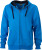 James & Nicholson - Men´s Hooded Jacket (Cobalt/Navy)