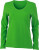 James & Nicholson - Ladies' Stretch Shirt Long-Sleeved (Lime Green)