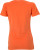 James & Nicholson - Ladies´ Vintage-T (Dark Orange)