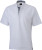 James & Nicholson - Men´s Plain Polo (White/Navy/White)