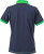 James & Nicholson - Ladies´ Urban Polo (Navy/Fern Green)