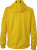 James & Nicholson - Men´s Maritime Softshell-Jacket (Sun Yellow/Navy/White)
