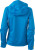 James & Nicholson - Damen Outdoor Jacke (aqua/acid-yellow)