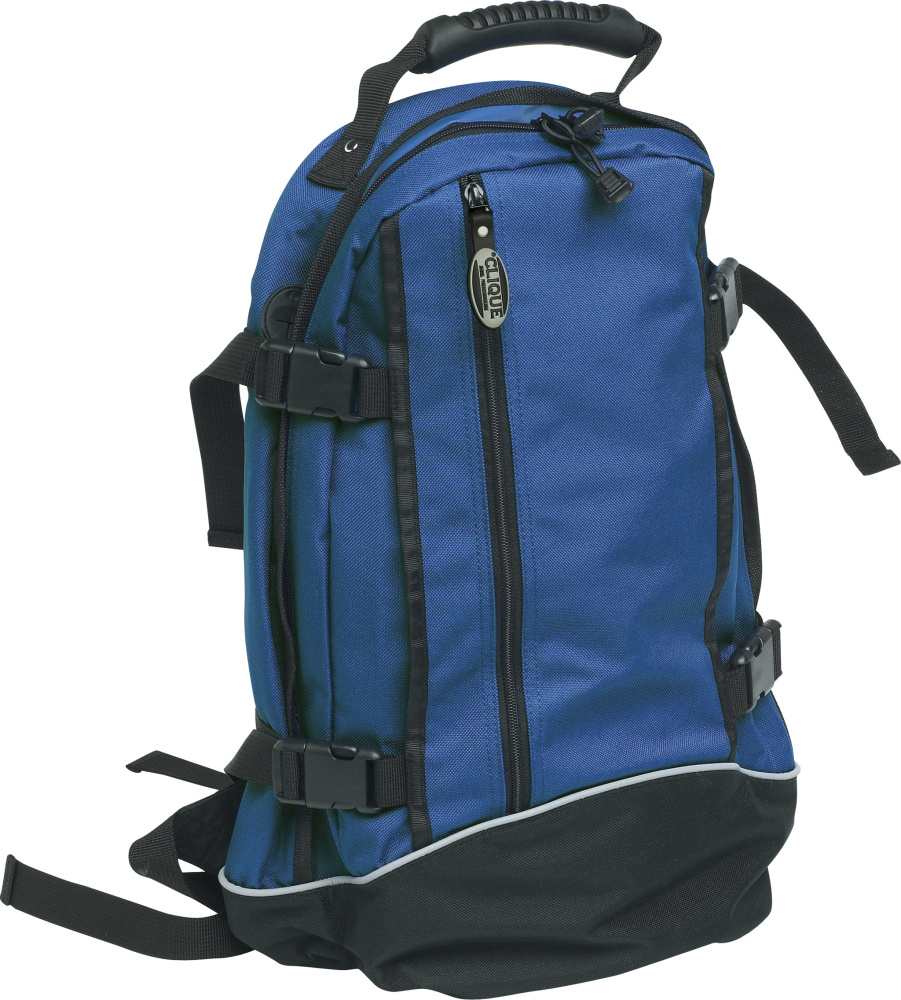 bb495f98cefd4 Backpack II (royalblau) for embroidery and printing - Clique - Bags ...