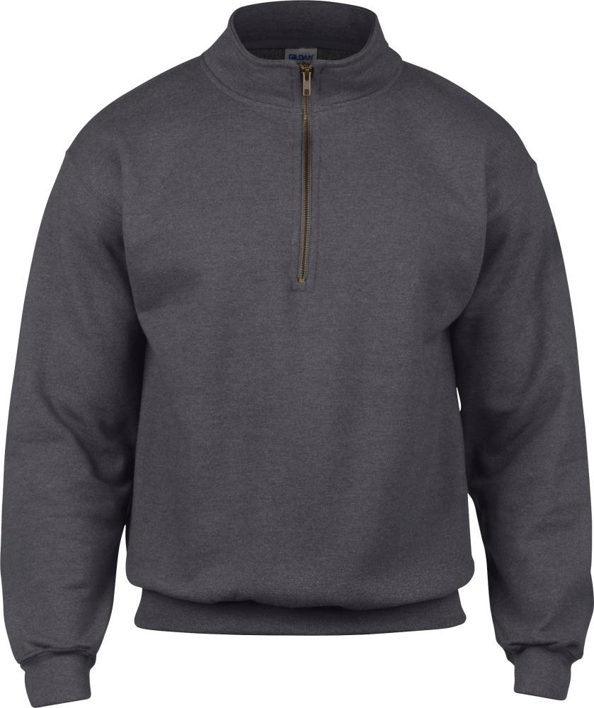 Heavy Blend™ Vintage 14 Zip Sweatshirt Tweed (Heather)