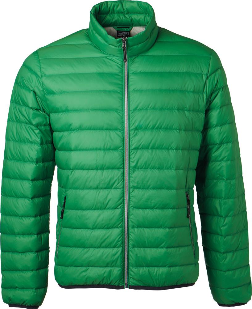 purchase cheap 6288e 8c3b9 Herren Daunenjacke fern green/silver
