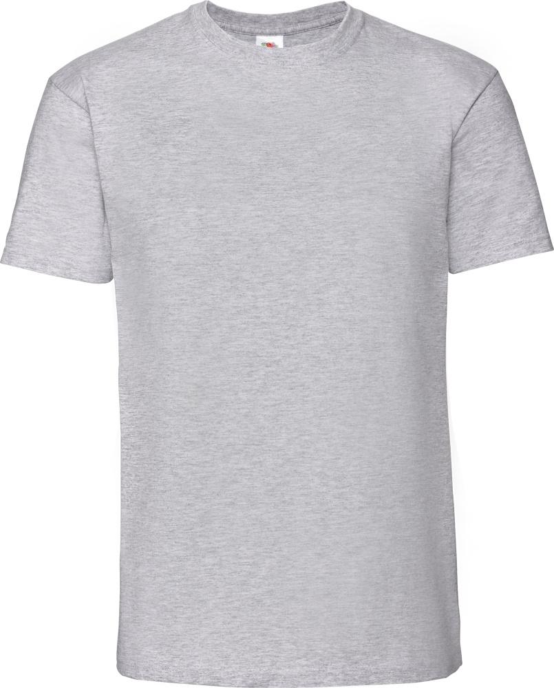 fabec706e28398 Herren Ringspun Premium T-Shirt (heather grey) zum besticken und ...