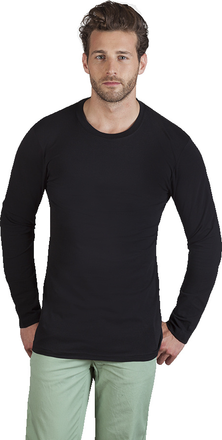 008bd865b Men's Slim Fit-T LS black