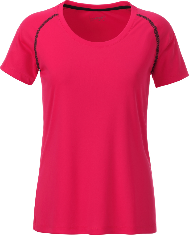 c6a3fdd7017646 Ladies' Sports T-Shirt (bright pink/titan) for embroidery - James ...