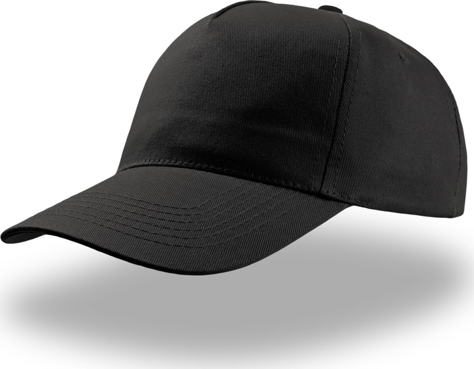 5 Panel Baseball Cap Start Five (black) for embroidery and printing ... 22883d3984c