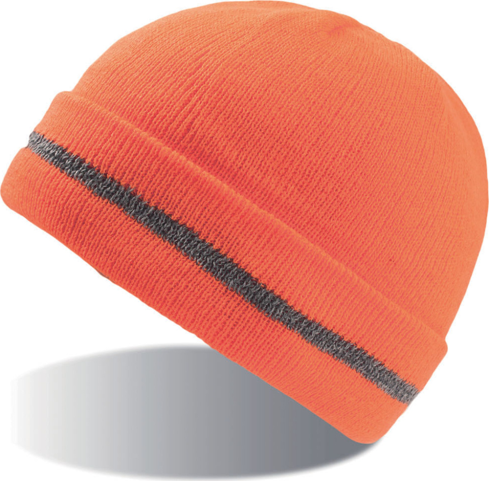 c7e459a5eee Safety Beanie with Cuff Workout (orange) for embroidery - Atlantis ...