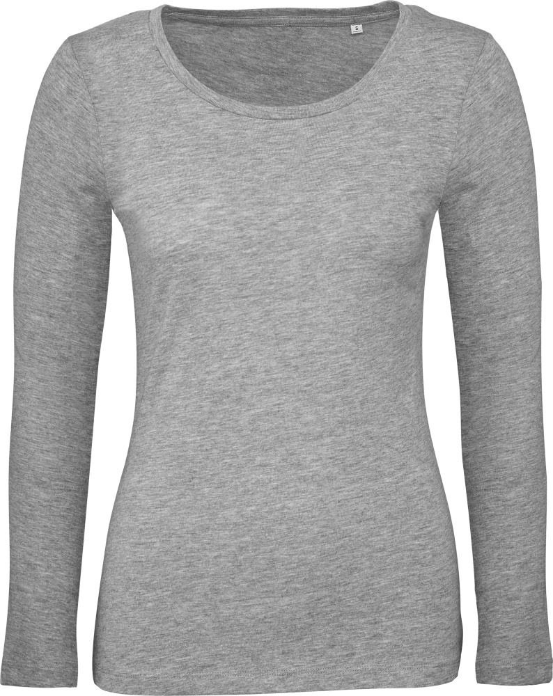 best loved f0586 f3207 Damen Inspire T-Shirt langarm sport grey