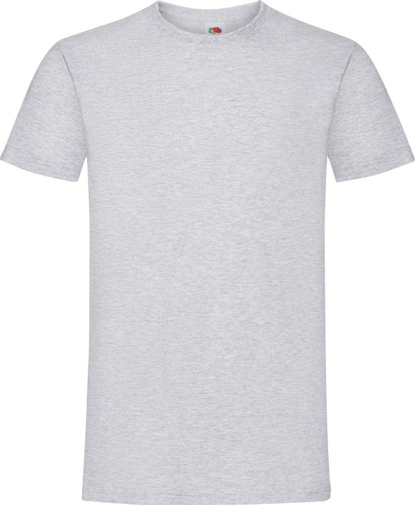 8d6528f55d6 Sofspun T-Shirt (heather grey) for embroidery and printing - Fruit ...