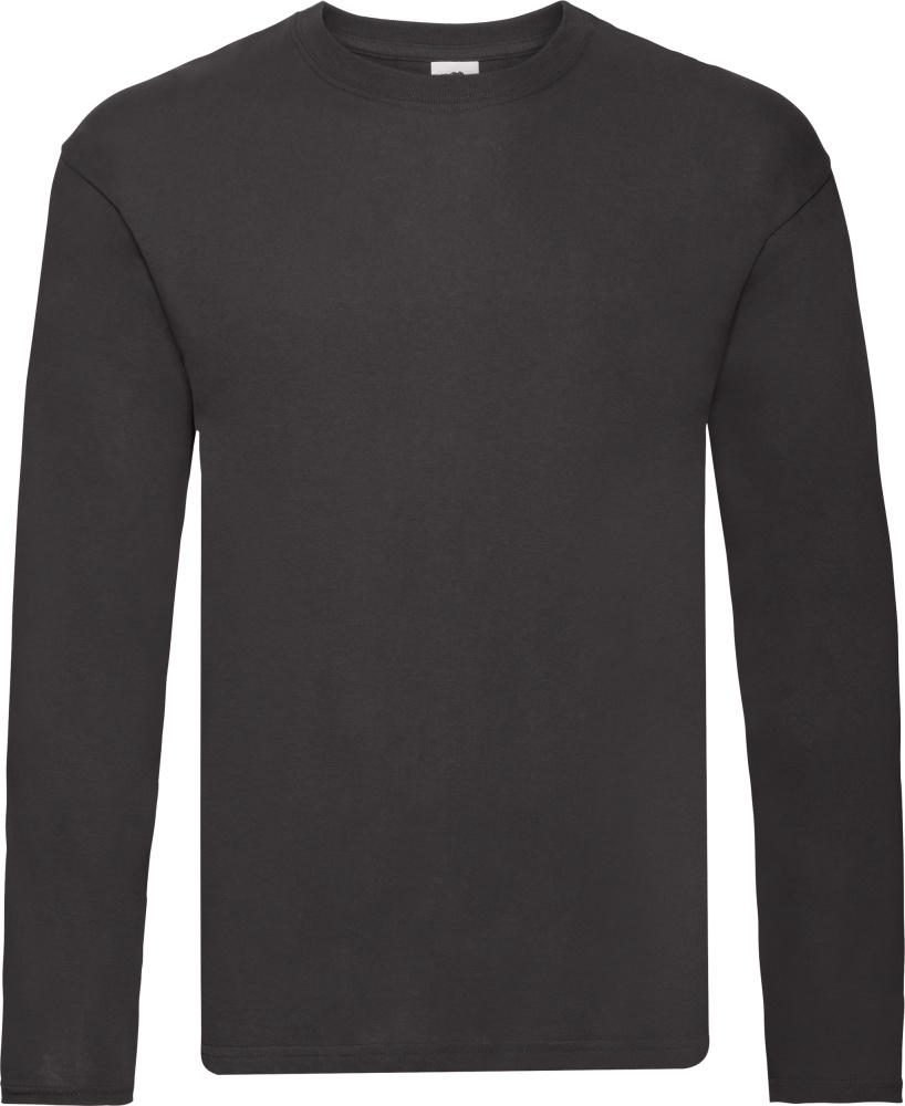 online store 4a79d 0ae07 Men's T-Shirt longsleeve black