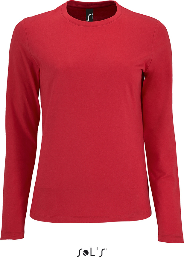 a903083cd64 Ladies' T-Shirt longsleeve Imperial red