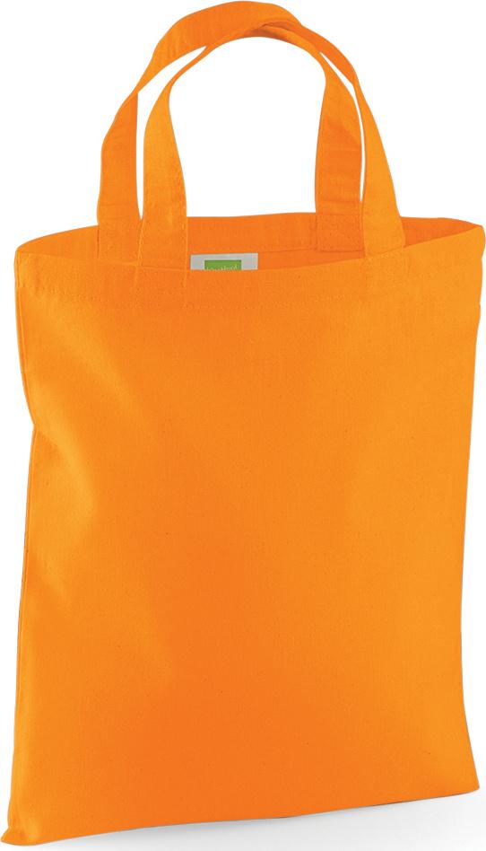 cfcc64000263d Mini Tragetasche (orange) zum besticken und bedrucken - Westford ...