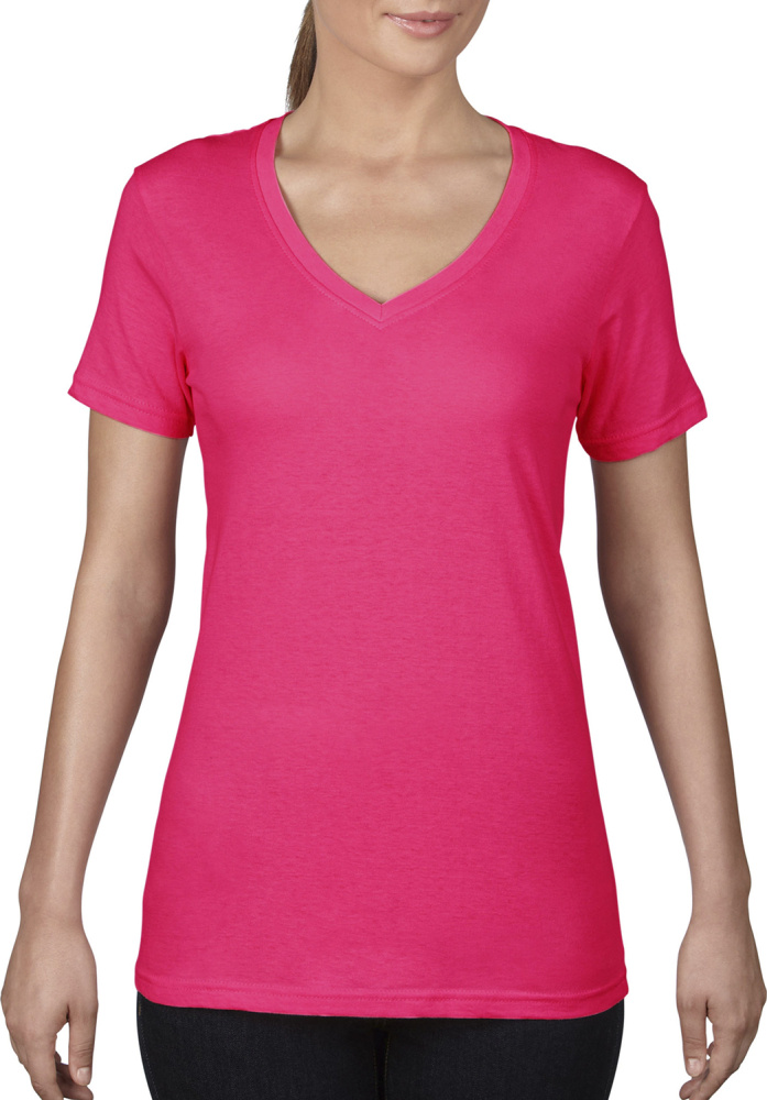 Women´s Featherweight V-Neck Damen T-ShirtAnvil