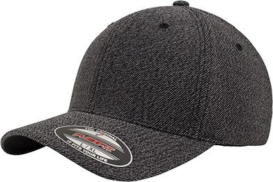 8604b580de5c12 Melange Flexfit (Black Melange) for embroidery - Flexfit - Caps ...