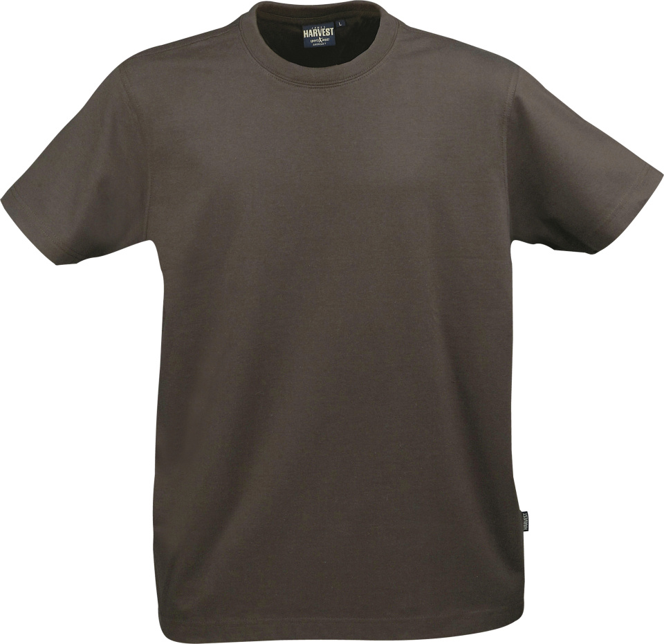 1df208355678b2 American Tee (braun) for embroidery and printing - James Harvest ...