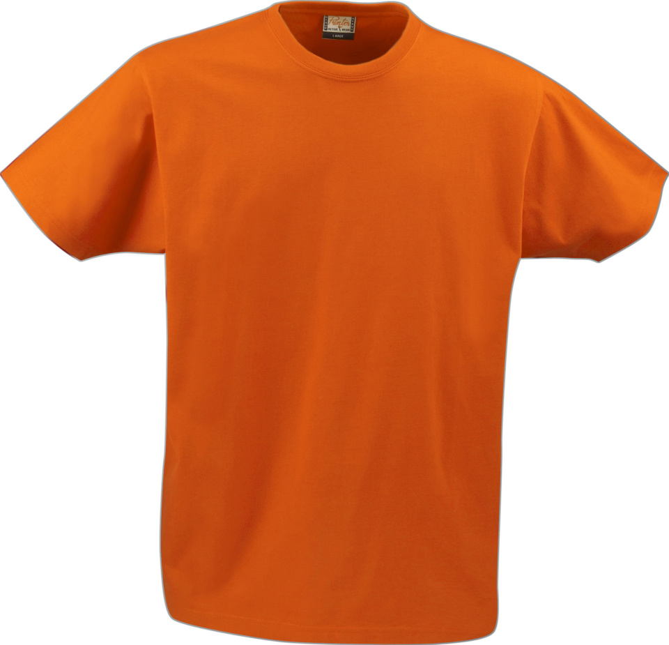 1a9b9b15f0b5a6 Heavy T-Shirt RSX (orange) for embroidery and printing - Printer ...
