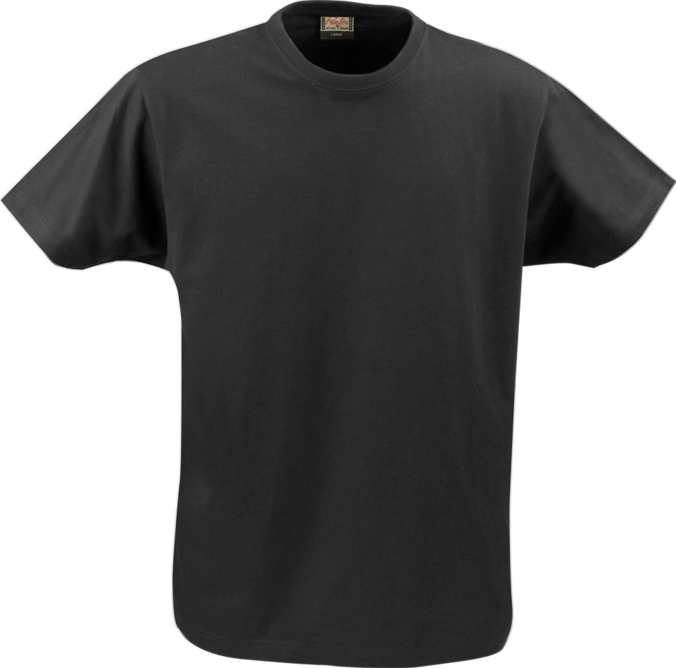 7034f2bc3c2d63 Heavy T-Shirt RSX (schwarz) for embroidery and printing - Printer ...
