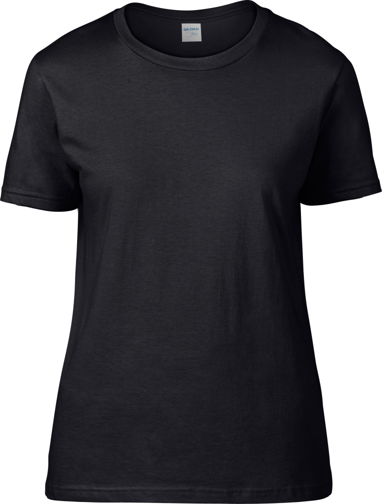 5c0e4e48e5 Premium Cotton Ladies T-Shirt (Black) for embroidery and printing ...