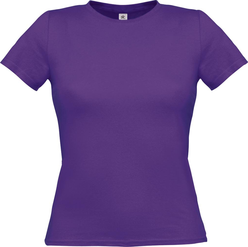 T-Shirt Women-Only (Purple) for embroidery and printing - B C - T ... c5032b58b1
