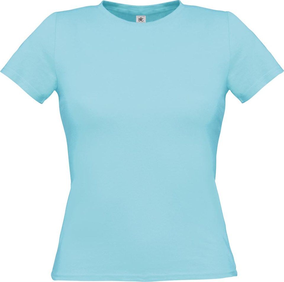 T-Shirt Women-Only (Turquoise) for embroidery and printing - B C - T ... 8cb6297ae5