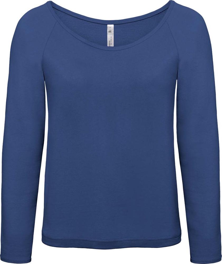 601b1c4e96774f Raglan Sweat Eden  Women (Pacific Deep Blue) zum besticken und bedrucken -  B C - T-Shirts - StickX Textilveredelung