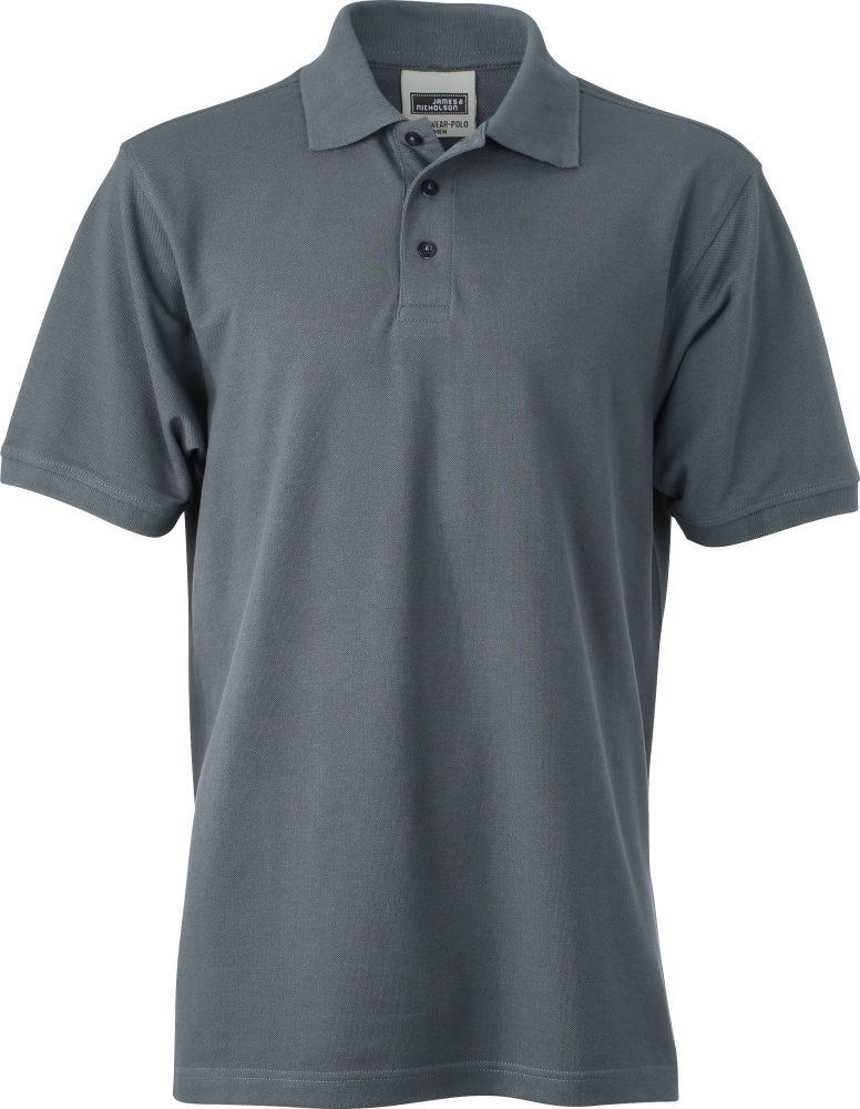 Men S Workwear Polo Carbon Zum Besticken Und Bedrucken James
