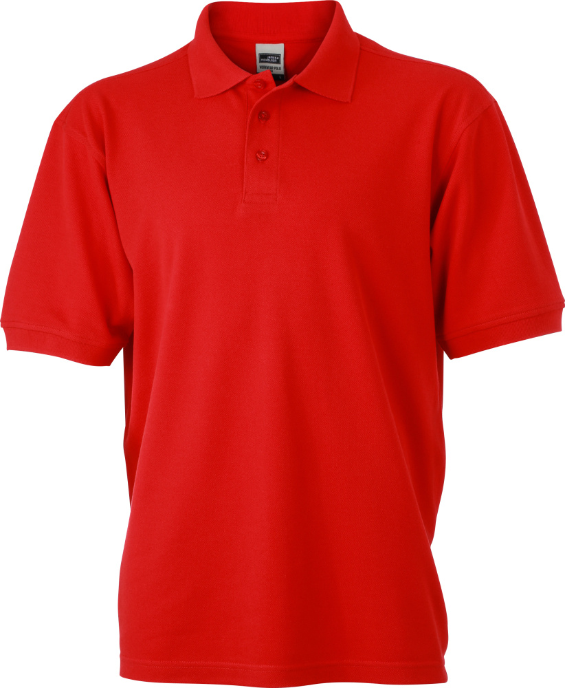 Men S Workwear Polo Red For Embroidery And Printing James