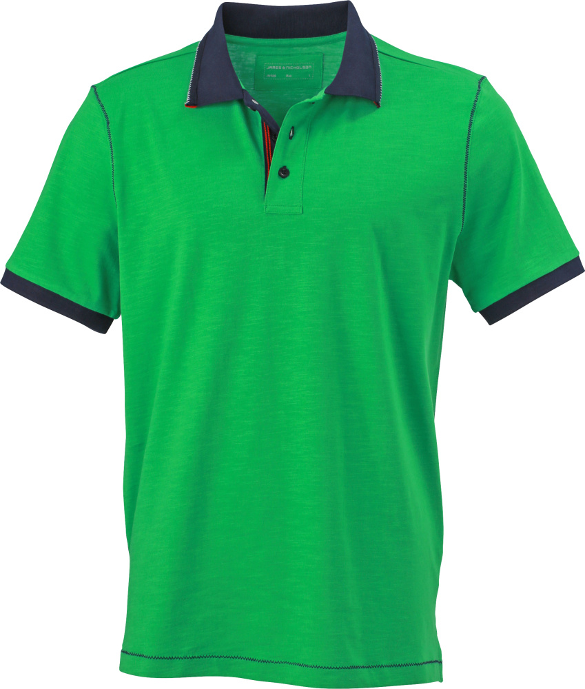83ef2fa5e Men´s Urban Polo (Fern Green/Navy) for embroidery and printing ...