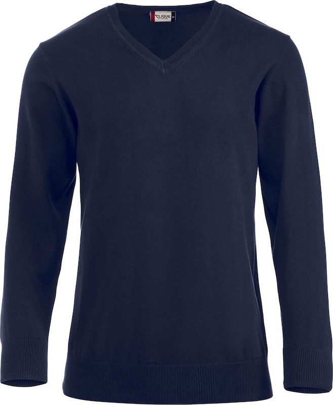 Aston (dark navy) for embroidery and printing - Clique - Pullover ... 6037009b59