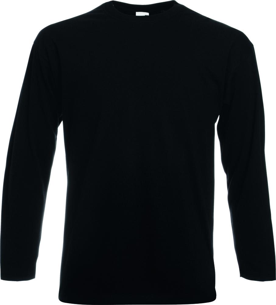 Fruit of the Loom Unisex Childrens Valuweight Long Sleeve Crew Neck Shirts