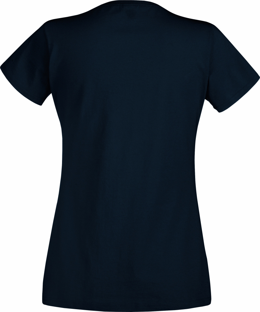 Fruit of the Loom Womens Lady-Fit Valueweight V-Neck T-Shirt